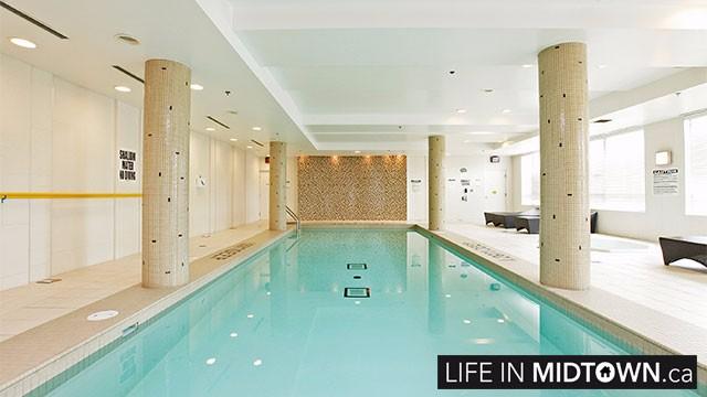 LifeInMidtown Condos 88 Broadway Pool 1