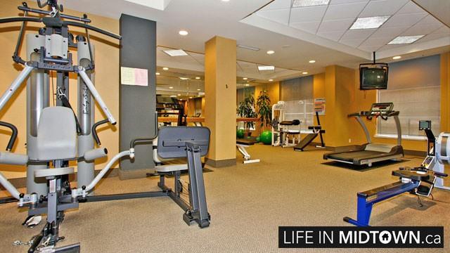 LifeInMidtown-Condos-123-Eglinton-Gym