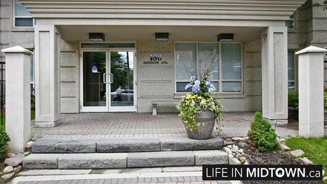 LifeInMidtown-Condos-188-Redpath-Entrance