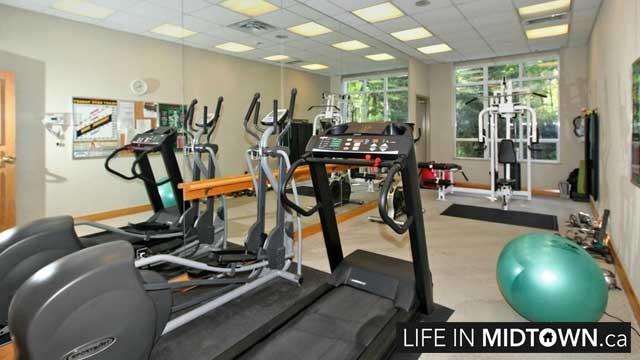 LifeInMidtown-Condos-225-Merton-Gym