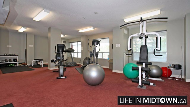 LifeInMidtown-Condos-300-Balliol-Gym