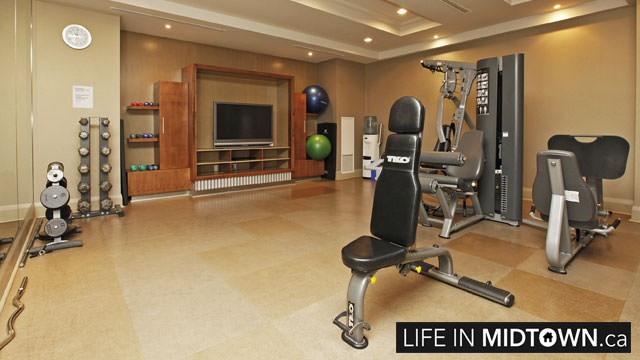LifeInMidtown-Condos-319-Merton-Gym