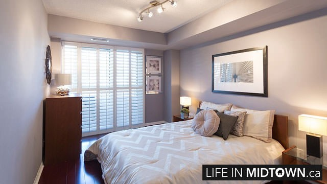 LifeInMidtown-Condos-900-MountPleasant-Bedroom