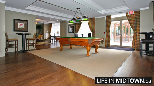 LifeInMidtown-Condos-900-MountPleasant-BilliardsRoom