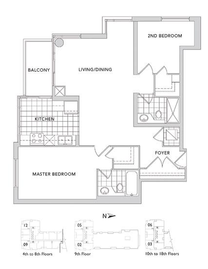 88 Broadway Suite 612 – Floorplan
