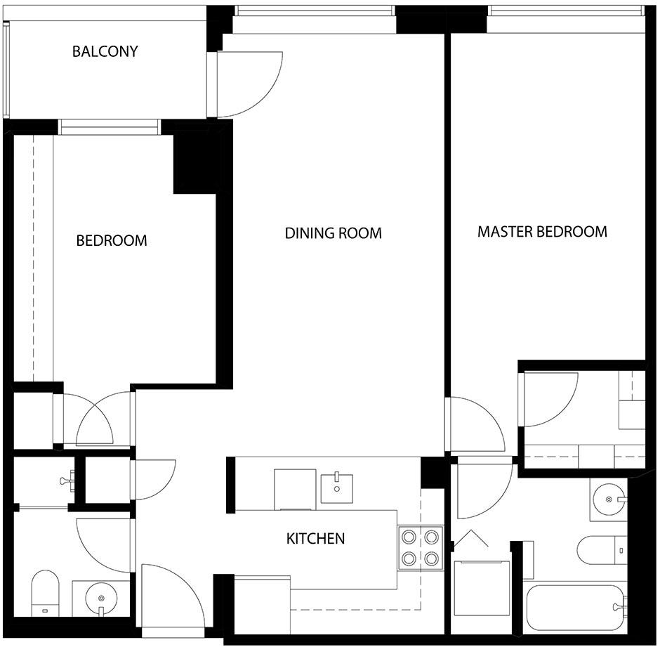 5 Rosehill – Suite 307 – Floor Plan