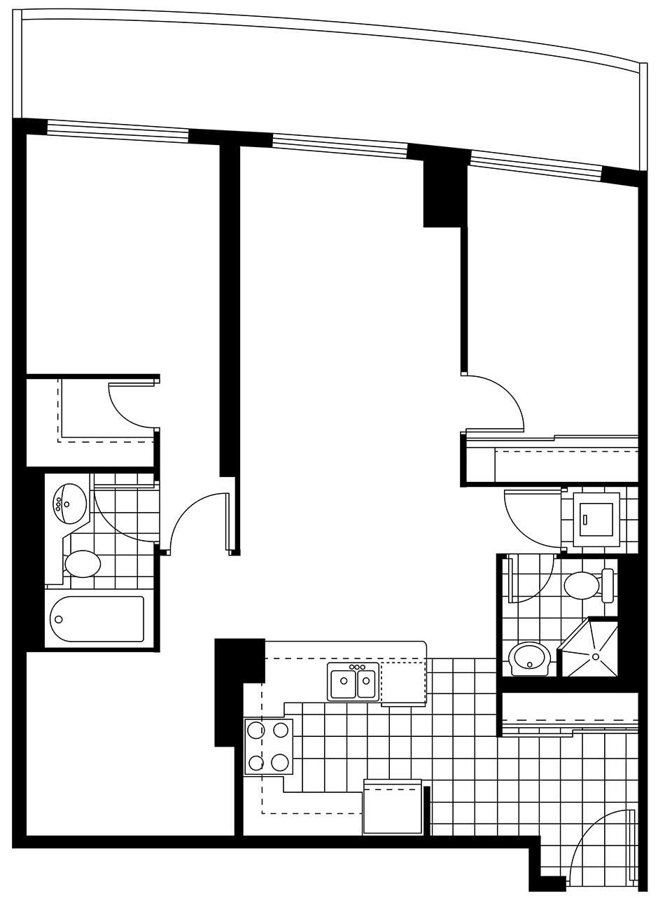 736 Spadina - Suite 1108 - Floor Plan