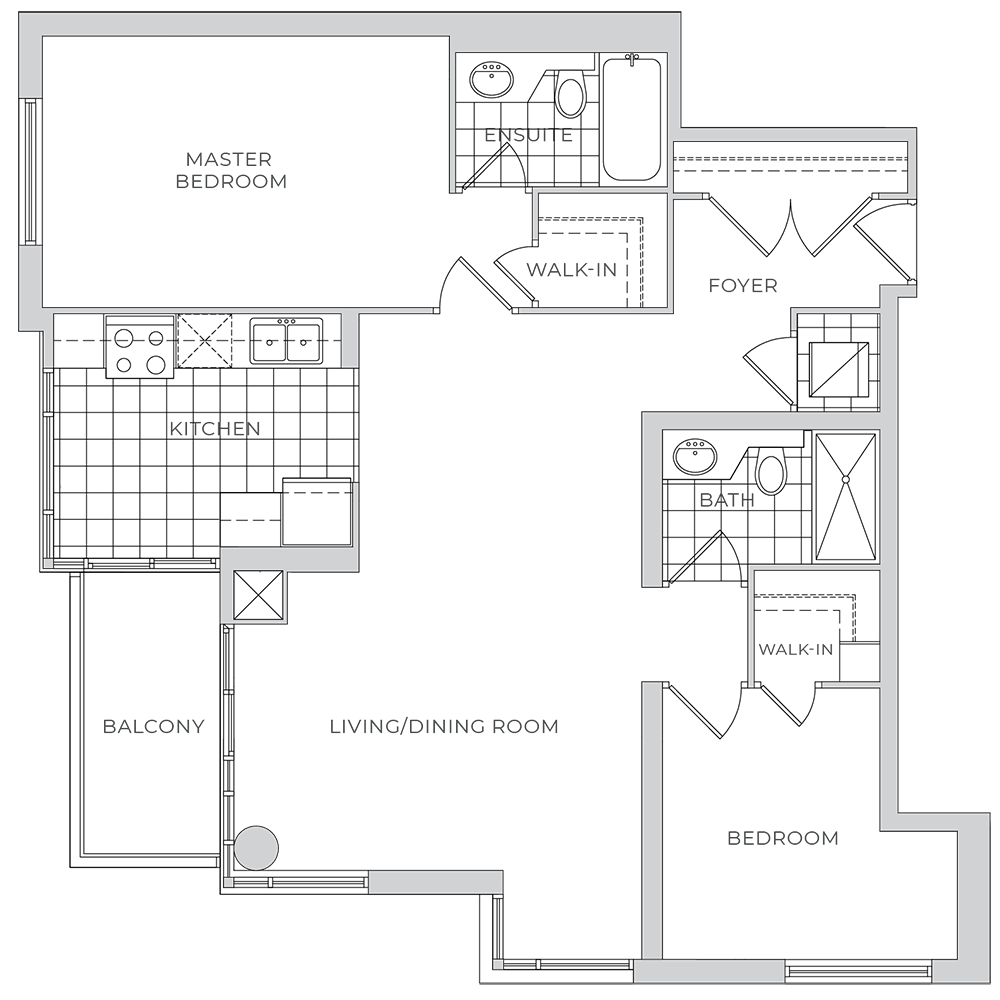 88 Broadway - Suite 1806 - Floor Plan